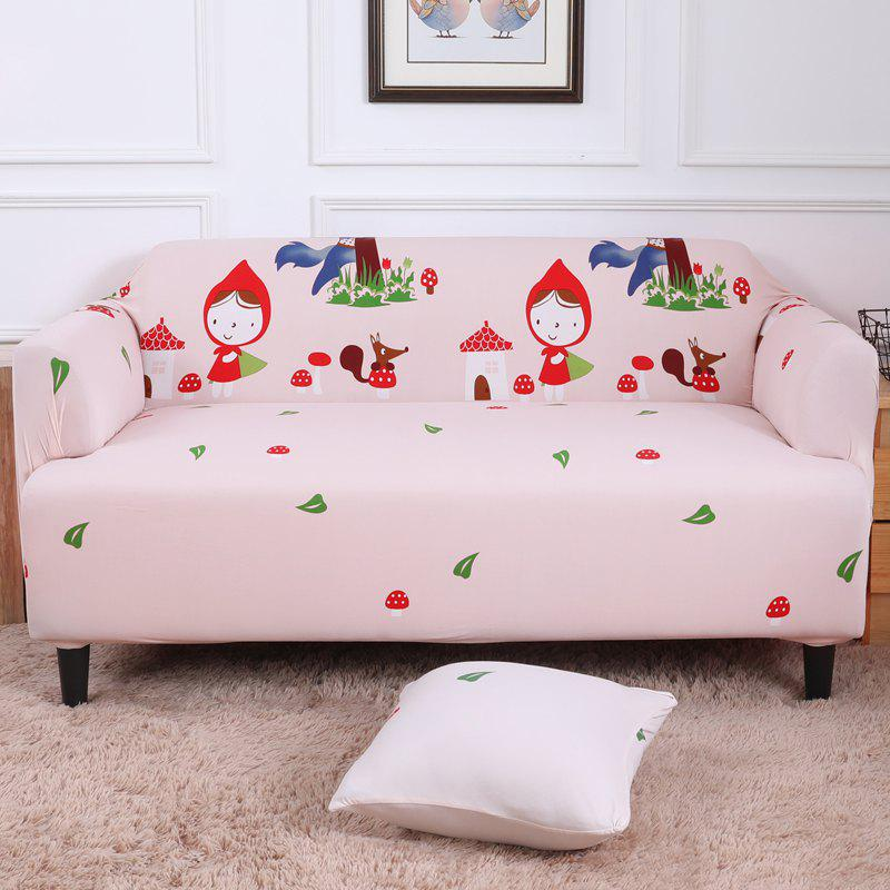 Affordable All-Purpose Cartoon Sofa Cover for Four Seasons