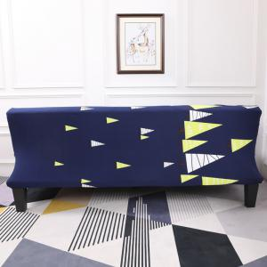 Sofa Cover for Armless Sofa with Cartoon Patterns -