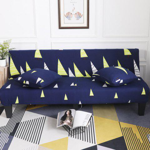 Store Sofa Cover for Armless Sofa with Cartoon Patterns