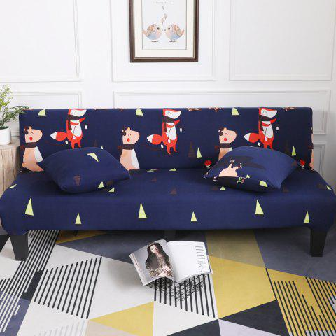 Sale Sofa Cover for Armless Sofa with Cartoon Patterns