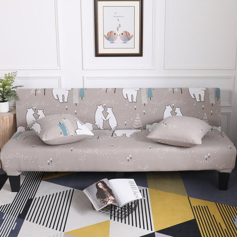 Buy Sofa Cover for Armless Sofa with Cartoon Patterns