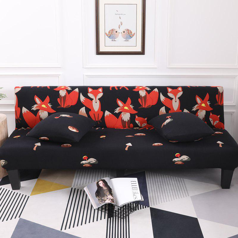 Outfit Sofa Cover for Armless Sofa with Cartoon Patterns