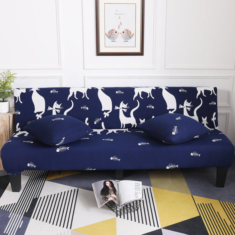 Shops Sofa Cover for Armless Sofa with Cartoon Patterns