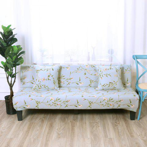 Discount Sofa Cover for Armless Sofa with Printed Cloth