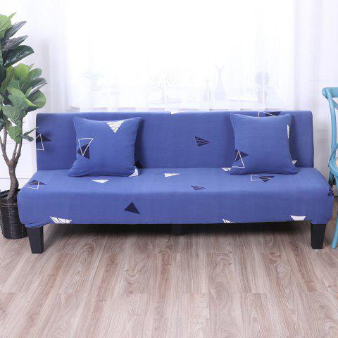 New Sofa Cover for Armless Sofa with Printed Cloth