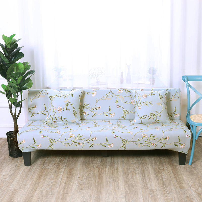 Sofa Cover For Armless With Printed Cloth
