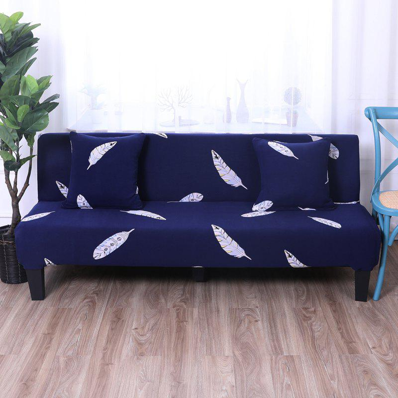 Outfits Sofa Cover for Armless Sofa with Printed Cloth