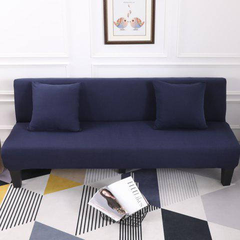 Fancy Sofa Cover for Armless Sofa with Pure Color