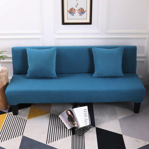 Buy Sofa Cover for Armless Sofa with Pure Color