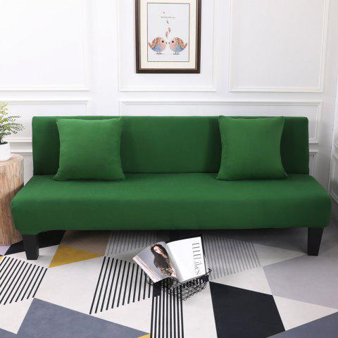 Affordable Sofa Cover for Armless Sofa with Pure Color