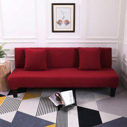Sofa Cover for Armless Sofa with Pure Color -