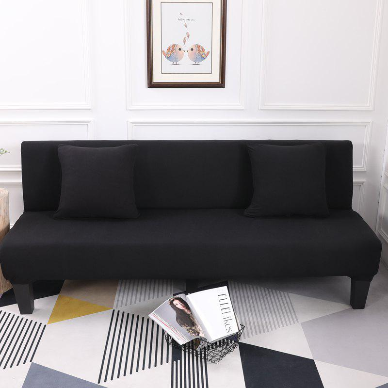 Store Sofa Cover for Armless Sofa with Pure Color