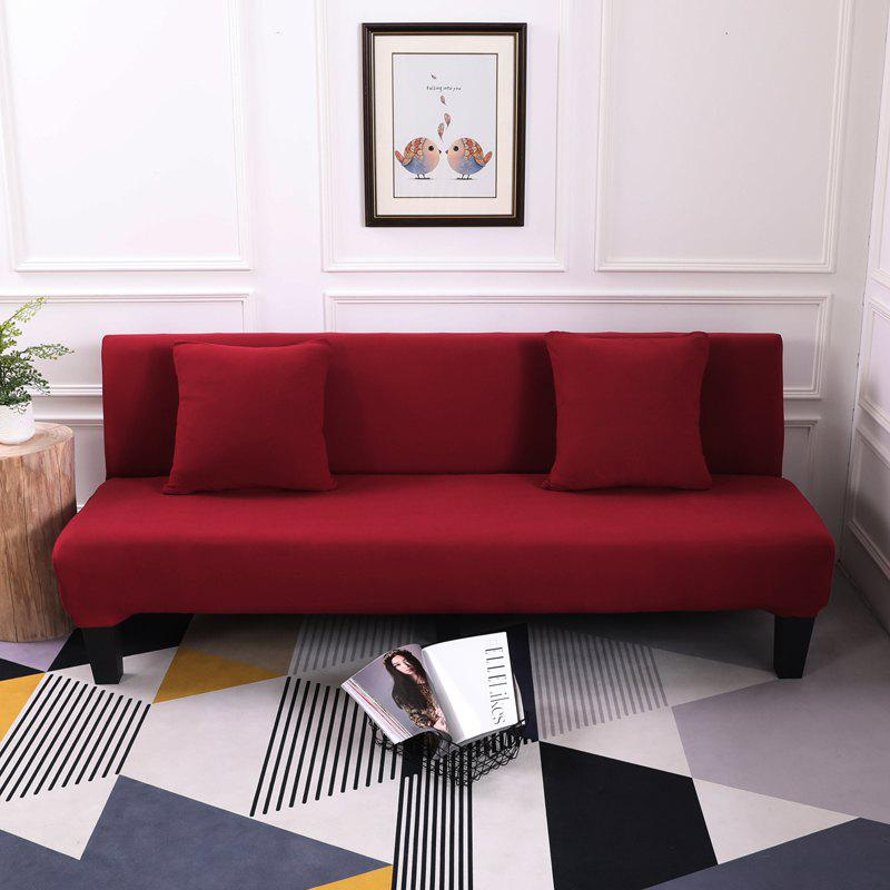 Hot Sofa Cover for Armless Sofa with Pure Color