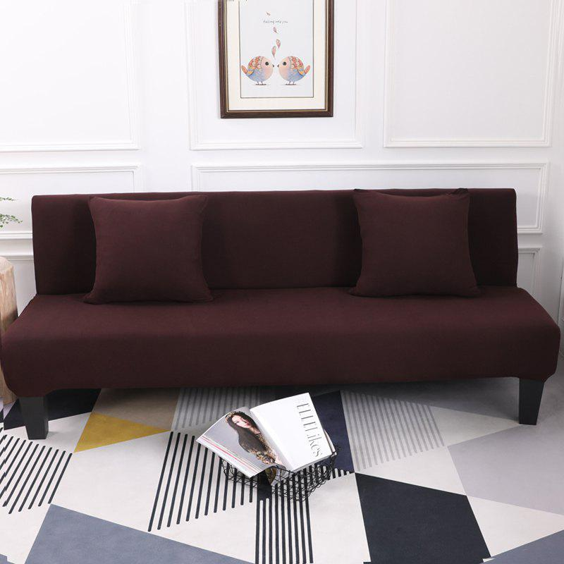 Online Sofa Cover for Armless Sofa with Pure Color