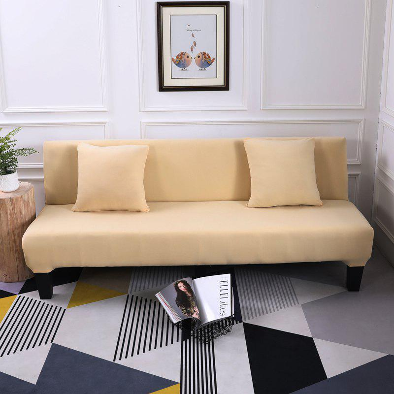 Discount Sofa Cover for Armless Sofa with Pure Color