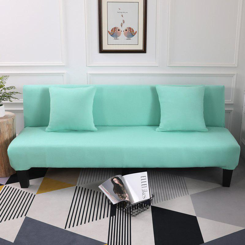 New Sofa Cover for Armless Sofa with Pure Color
