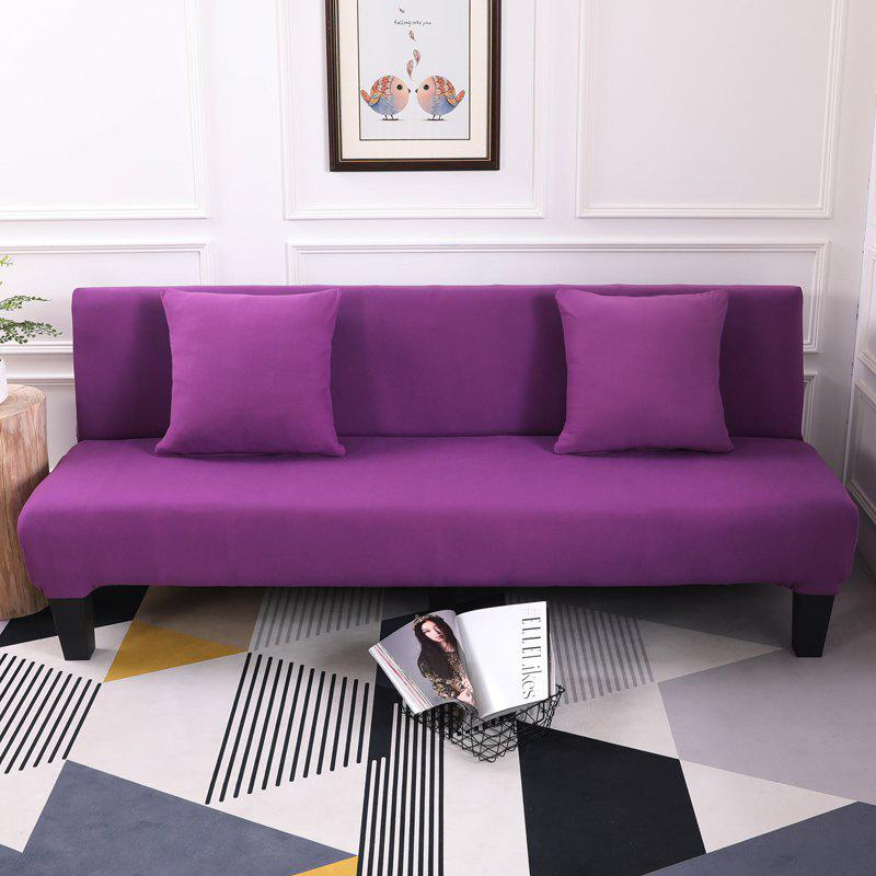 Shop Sofa Cover for Armless Sofa with Pure Color
