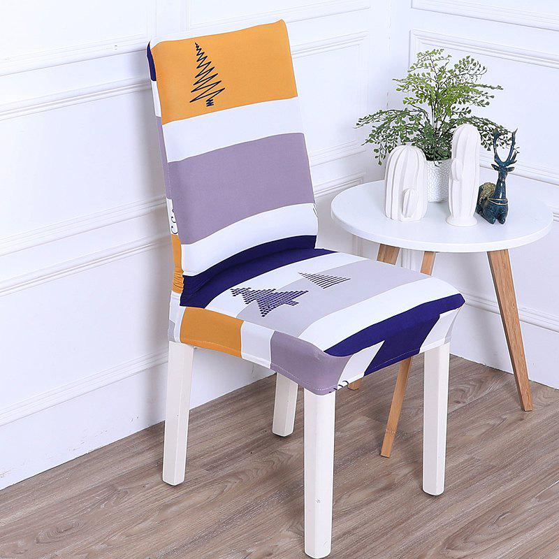 Fancy Multi-Seasonal Printed One-Piece Chair Cover