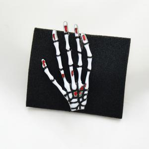 Skeleton Hand Brooches for Man Fashion Jewelry Pins Accessories New 2018 Gift -