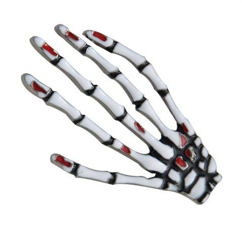 Buy Skeleton Hand Brooches for Man Fashion Jewelry Pins Accessories New 2018 Gift