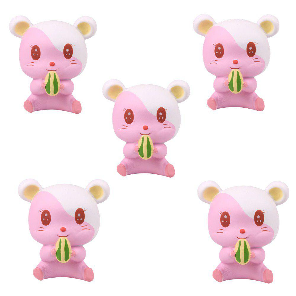 Affordable Slow Rebound Series of Cute Little Hamster Toys Jumbo Squishy 5PCS