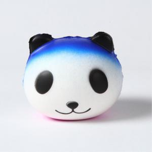 Slow Rebound Series Cute Elastic Starry Sky Panda Toy Jumbo Squishy 5PCS -