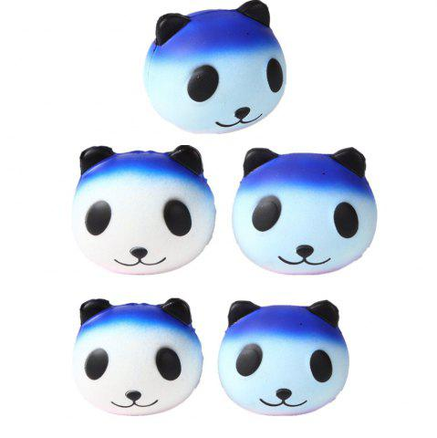 Discount Slow Rebound Series Cute Elastic Starry Sky Panda Toy Jumbo Squishy 5PCS
