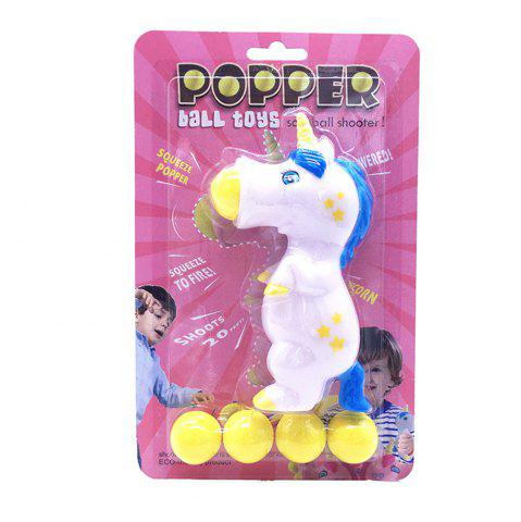Latest Unicorn Pieces Wild Animal Popper Squeeze Toys Shooting for Children Kids