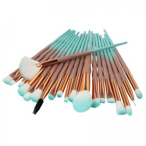 Diamond Handle Makeup Brush 20pcs -