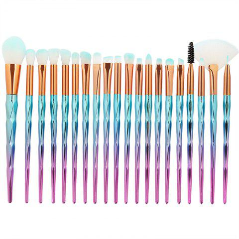 Hot Diamond Handle Makeup Brush 20pcs