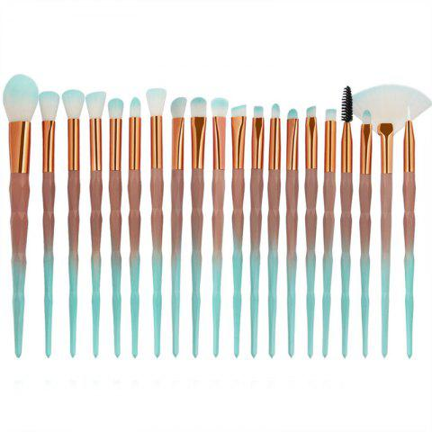 Cheap Diamond Handle Makeup Brush 20pcs