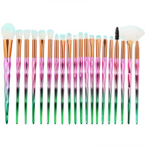 Sale Diamond Handle Makeup Brush 20pcs