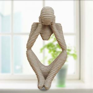 Creative Home Decoration Ornaments Sandstone Abstract Figures -