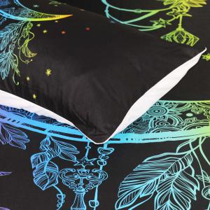 Colorful Bedding Moon Duvet Cover Set 3pcs -