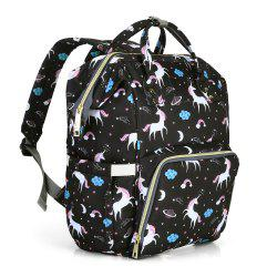 Fashion Mummy Maternity Nappy Large Capacity Baby Diaper Bag -