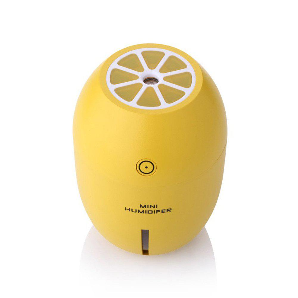 Online Mini Lemon with LED Light USB Portable Humidifier Air Diffuser