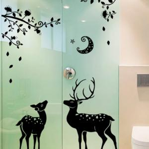 Fawn Simple Background Decoration Removable Wall Sticker -