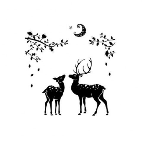 Hot Fawn Simple Background Decoration Removable Wall Sticker