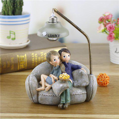 Hot Creative Novelty Home Resin Crafts Night Light Ornaments
