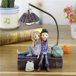 Creative Novelty Home Resin Crafts Night Light Ornaments -