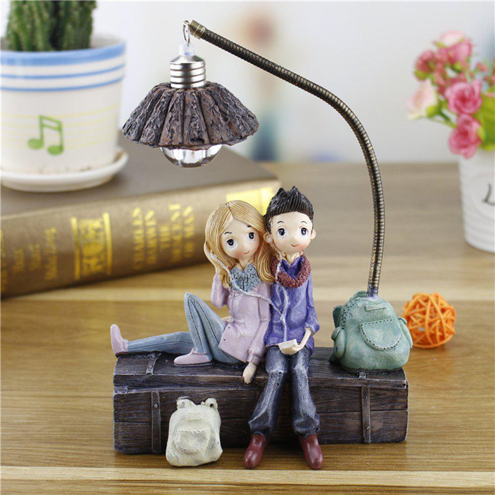Fancy Creative Novelty Home Resin Crafts Night Light Ornaments