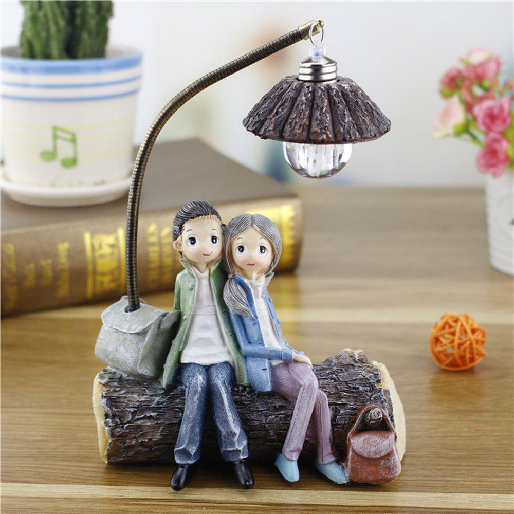 Shop Creative Novelty Home Resin Crafts Night Light Ornaments