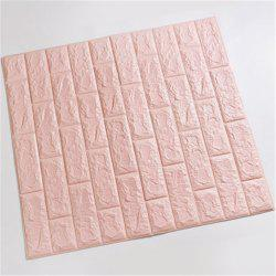 Self-Adhesive Waterproof Collision 3D Stone Brick Wallpaper Home Decorition -