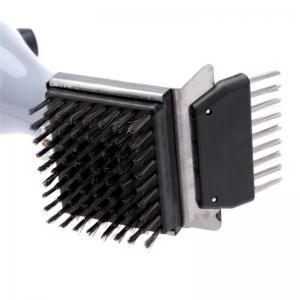 BBQ Grill Steam Cleaning Brush Barbecue Oven Accessory Heavy Duty Cooking Tool -