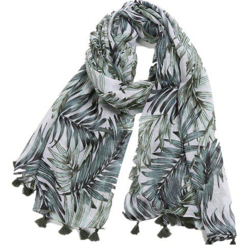 Femmes Sheer Long Fashion Scarf