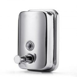 800ml  Stainless Steel Manual Wall-Mount Soap Dispenser -