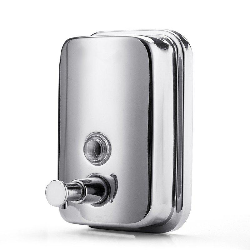 Online 800ml  Stainless Steel Manual Wall-Mount Soap Dispenser