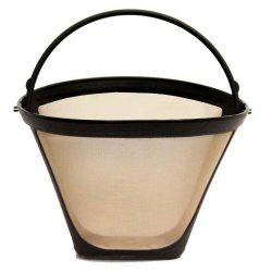 Cone Shape Permanent Coffee Filter 10-12 Cup -