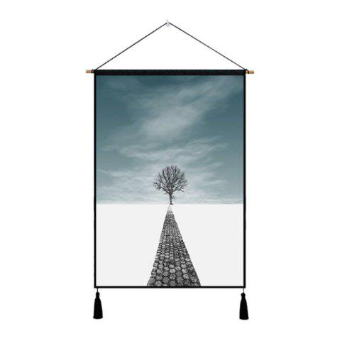 Chic Background Wall Cloth Fabric Hanging Print Painting Decoration
