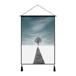 Background Wall Cloth Fabric Hanging Print Painting Decoration -